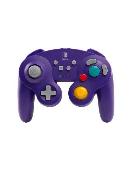 Manette Nintendo Switch Bd&A GameCube sans fil Violet