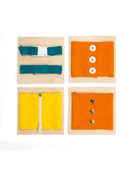 Kit créatif Boîte de fermetures Montessori