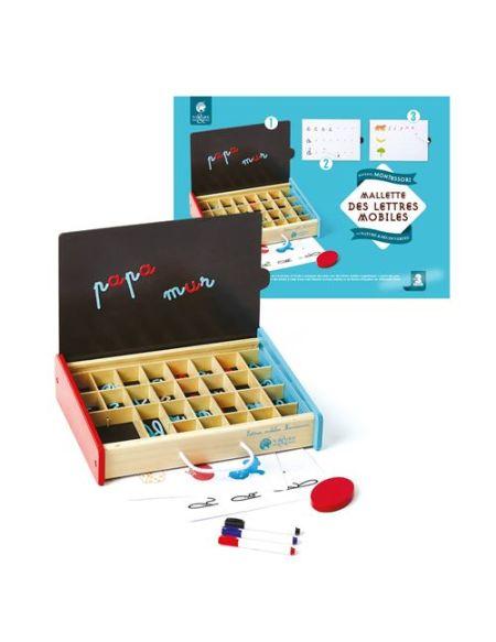 Mallette des lettres mobiles Montessori
