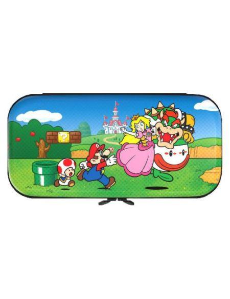 Kit de protection Mushroom Kingdom pour console Nintendo Switch Lite