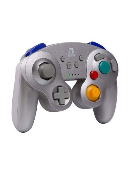 Manette Nintendo Switch Bd&A GameCube sans fil Argent