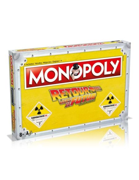 Jeu de société Monopoly Retour vers le futur Exclusivité Fnac
