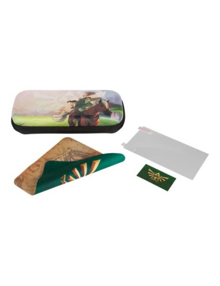 Kit de protection PowerA Zelda Hyrule Field pour Nintendo Switch Lite