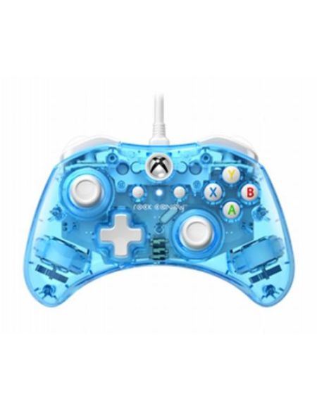 Manette Xbox One filaire PDP Rock Candy Mini Bleu