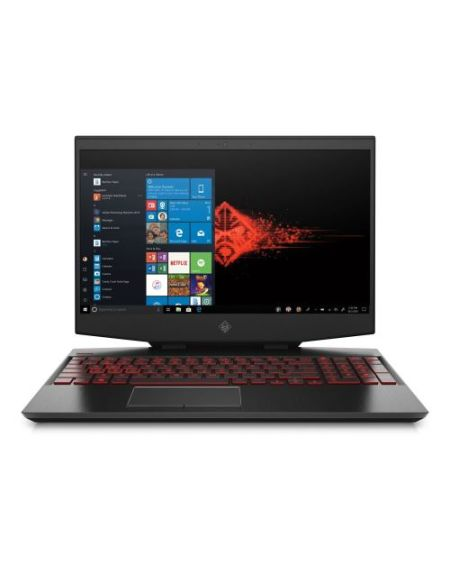 "PC Portable HP Gaming OMEN 15-dh0076nf 15,6"" Full HD Noir (Intel Core i7, 16 Go RAM, 512 Go SSD, Nvidia GeForce RTX 2070 8GB G-SYNC with Max Q)"