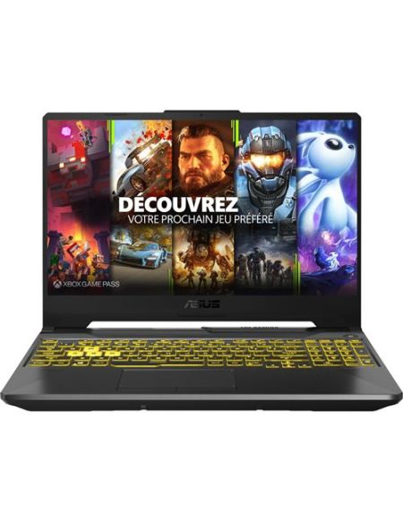 "PC Portable Gaming Asus F15-TUF566LU-HN024T 15,6"" Intel Core i7 8 Go RAM 512 Go SSD Gris forteresse"