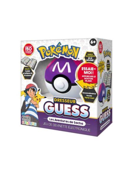 Figurine Pokémon Dresseur Guess les Aventures de Sasha