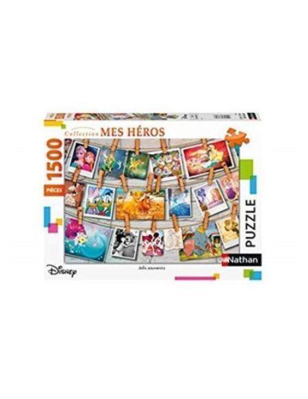 Puzzle Nathan Souvenirs d'enfance Disney 1500 pièces