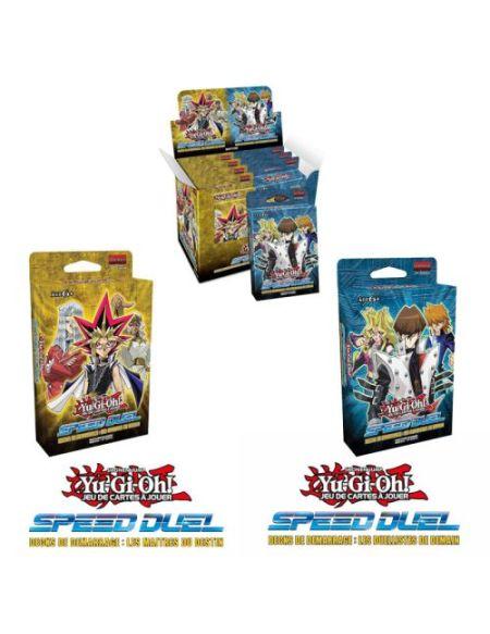 Jeu de cartes Yu-Gi-Oh! Speed Duel Maîtres Duellistes Modèle aléatoire