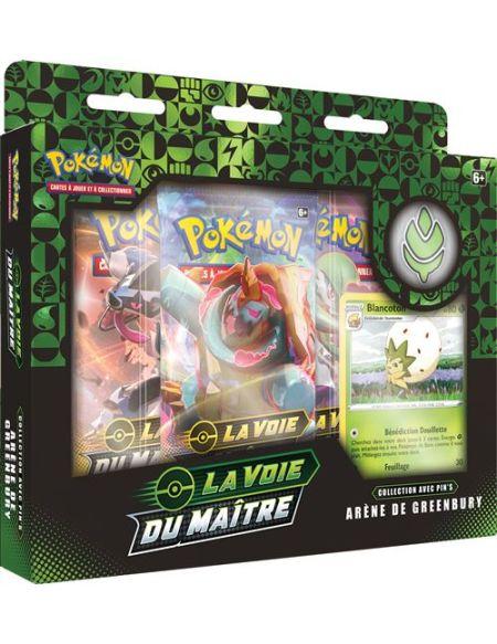 Coffret Pokémon La voie du maître 3 boosters Modèle aléatoire