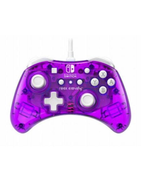 Manette Nintendo Switch filaire PDP Rock Candy Mini Violet