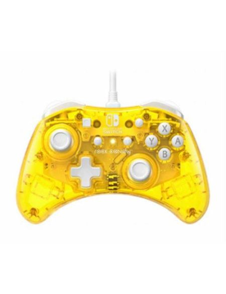 Manette Nintendo Switch filaire PDP Rock Candy Mini Jaune