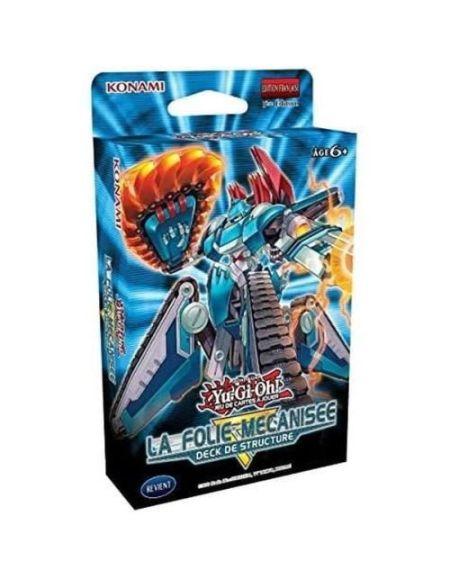 Jeu de cartes Yu-Gi-Oh Deck de Structure La Folie Mécanisée