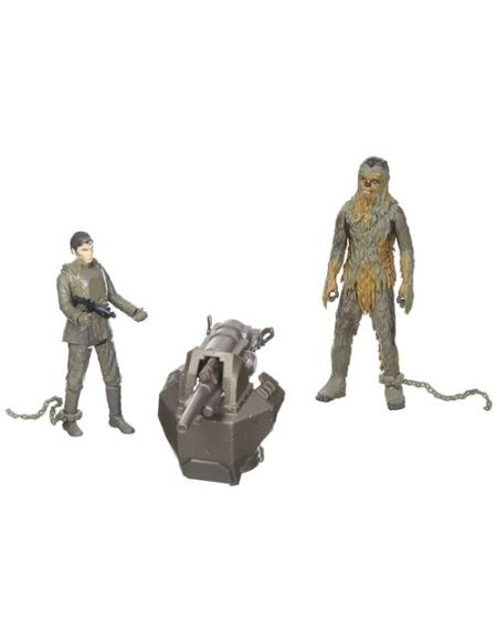 Playset Star Wars Han Solo avec Chewbacca