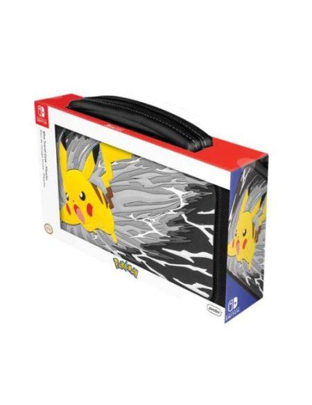 Etui de transport PDP Pikachu Greyscale pour Nintendo Switch