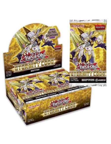 Jeu de cartes Yu-Gi-Oh Booster Code de l'Eternité