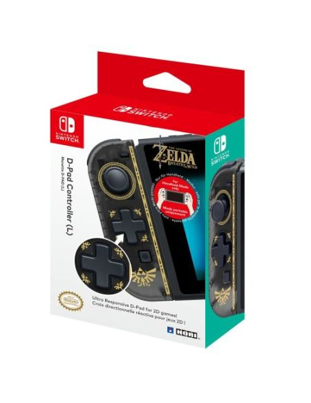 Manette Nintendo Switch Hori D-Pad The Legend of Zelda Breath of the Wild Sans fil