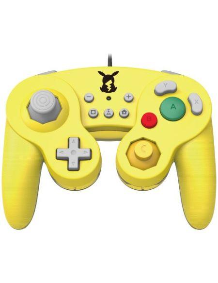 Manette Nintendo Switch filaire Hori Battle Pad Pokemon Pikachu
