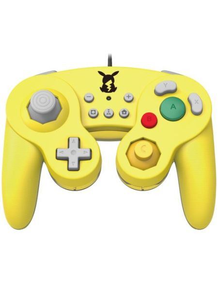 Manette Nintendo Switch filaire Hori Battle Pad Pokémon Pikachu