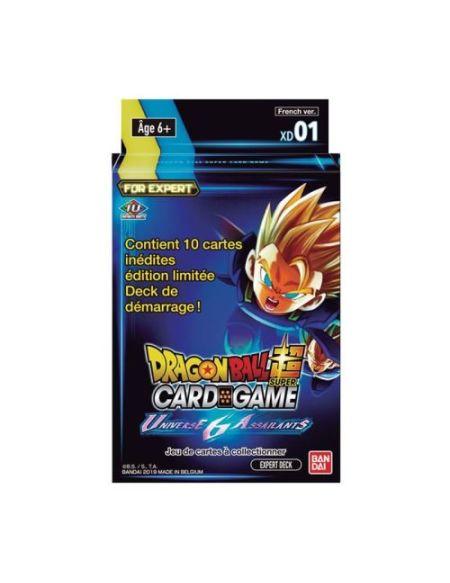 Jeu de cartes Dragon Ball JCC Expert Deck 1 Universe 6 Assailants