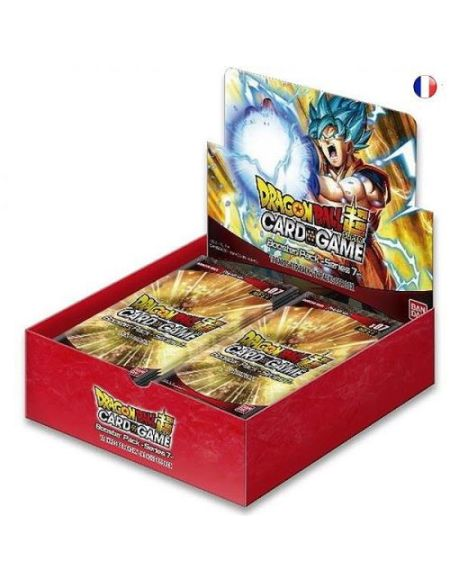 Jeu de cartes Dragon Ball JCC Booster 7 Assault of the Saiyans