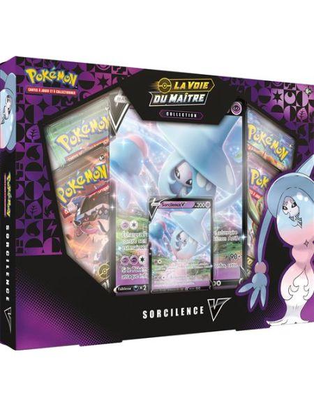 Coffret Pokémon La voie du maître Sorcilences 4 boosters