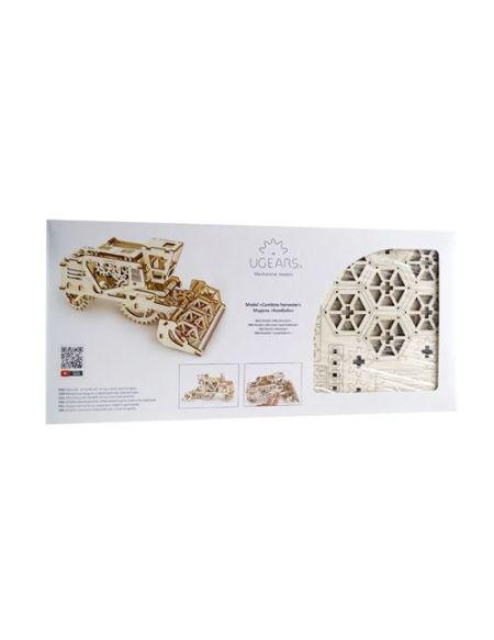 Puzzle 3D Ugears Moissonneuse Batteuse mécanique
