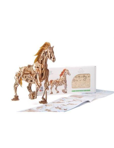 Puzzle 3D Ugears Cheval Mécanique