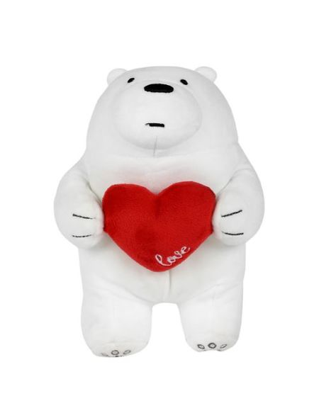 Peluche de la série Festival Miniso We Bare Bears Ice Bear