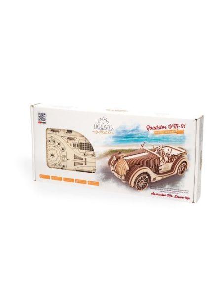 Puzzle 3D Ugears Roadster VM 01
