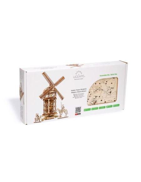 Puzzle 3D Ugears Moulin à Vent