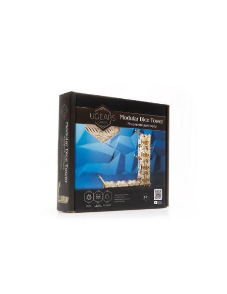 Puzzle 3D Ugears Tour de Dés