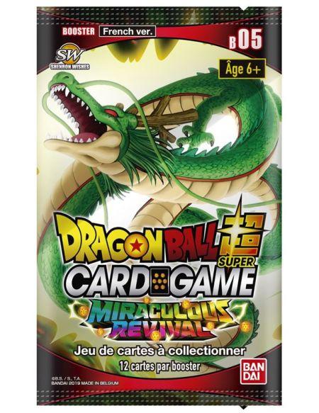 Booster Bandai-Dragon Ball Z Super Jcc Série 5