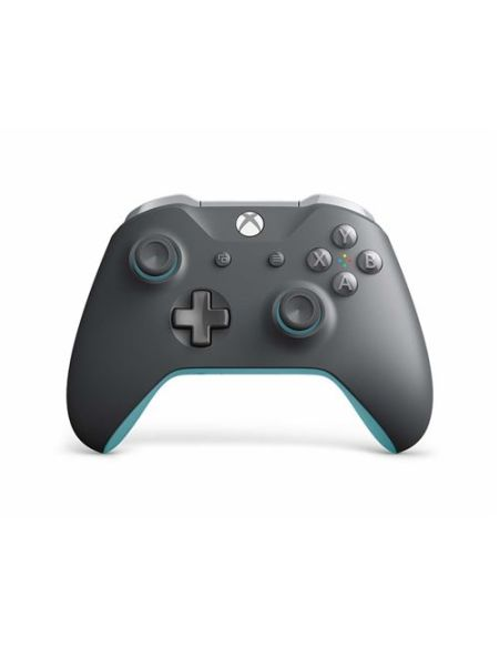 Manette Xbox One Microsoft Gris et Bleu Sans fil