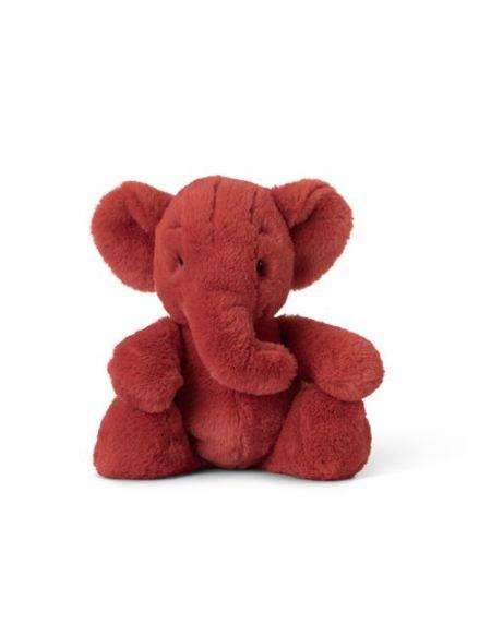 WWF CUB CLUB Peluche Ebu l'éléphant 29cm Rouge