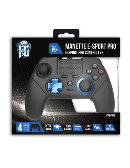 Manette ESport FPS100 Freaks And Geeks pour Playstation 4 Noir