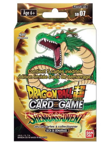 Starter Pack - Dragon Ball Super - Série 7 - Shenron's Advent