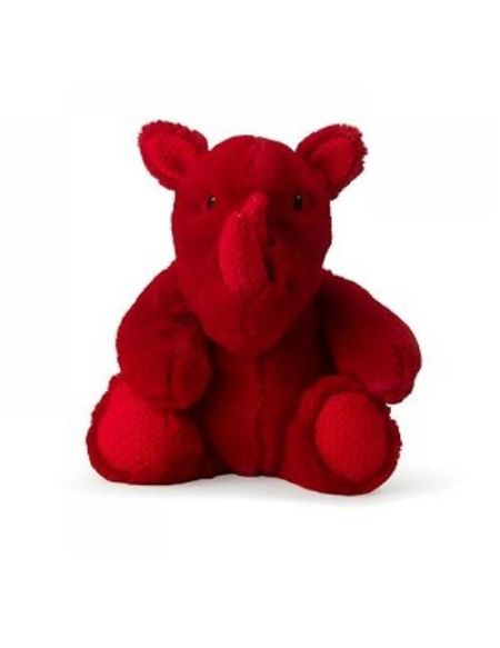 Peluche Wwf Rira Rhino 29 cm Rouge