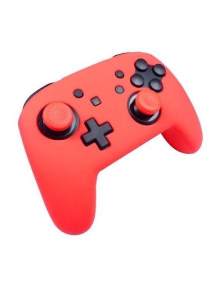 Kit de protection Subsonic Rouge Néon pour manette Nintendo Switch Pro