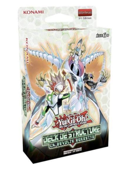 Pack de 46 cartes Konami Yu-Gi-Oh Deck de Structure La Révolte Rokkette