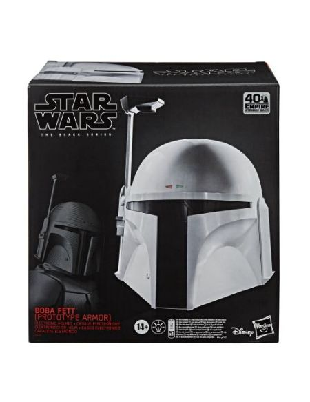 Casque Electronique Star Wars The Black Series Boba Fett