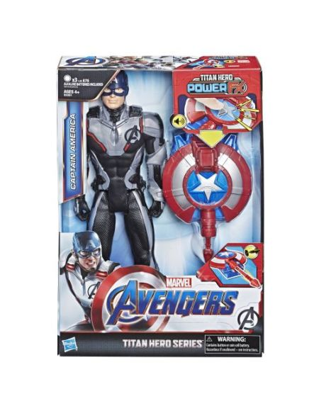 Figurine Power Pack 30 cm - Avengers Endgame - Captain America