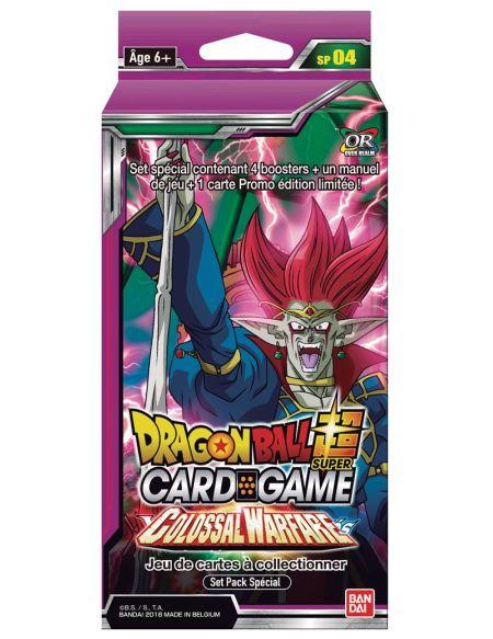 Pack spécial de cartes Dragon Ball Super Colossal Warfare
