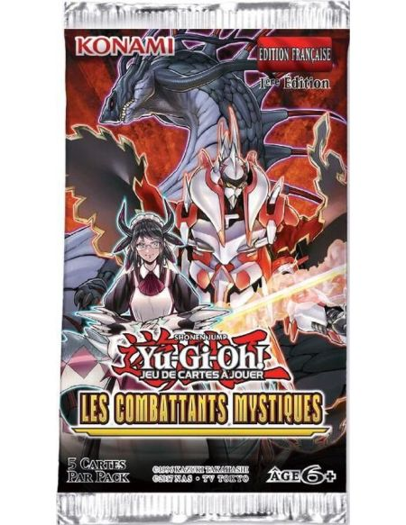 Jeu de cartes Konami Yu-Gi-Oh Les combattants mystiques