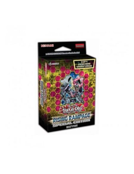 Jeu de cartes Konami Yu-Gi-Oh! JCC Edition Spéciale le Soulevement de la Fureur