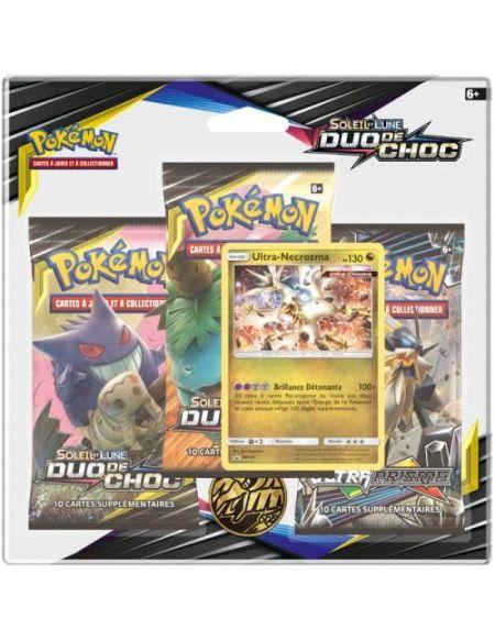 Pack de 3 boosters Pokémon Soleil et Lune 9 Modèle aléatoire