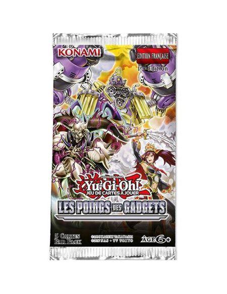 Pack de 5 cartes Konami Yu-Gi-Oh Les Poings des Gadgets