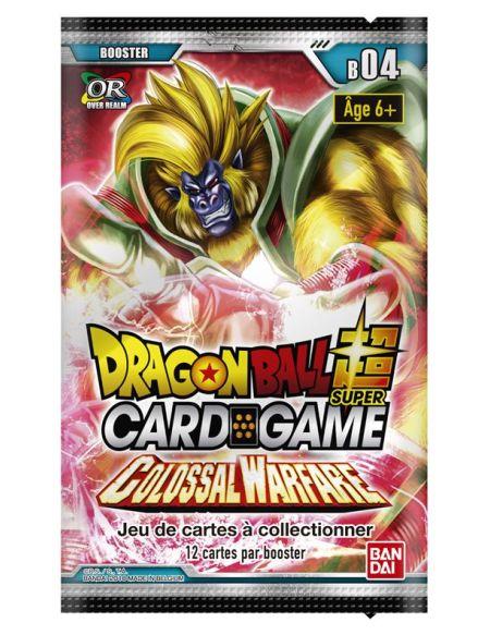 Booster de cartes Dragon Ball Super Colossal Warfare