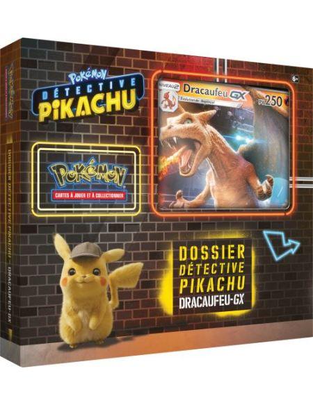 Coffret de 4 boosters Pokemon Mai 2019 Dracaufeu-GX N1