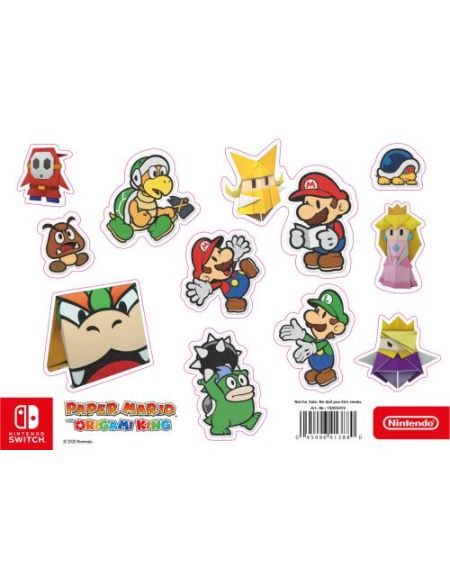 Bonus de commande Magnet Paper Mario the Origami King
